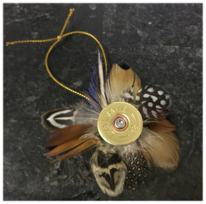 Feather Cartridge Decoration