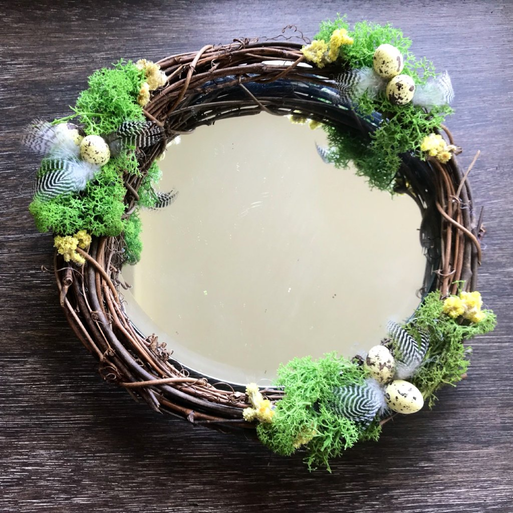 Easter Spring Wreath Centrepiece