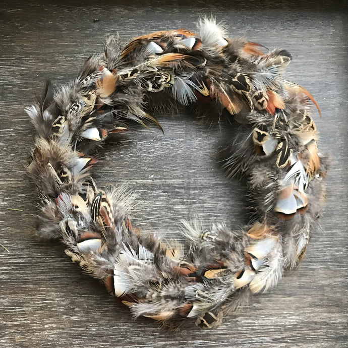 Feather Wreath - Mixed