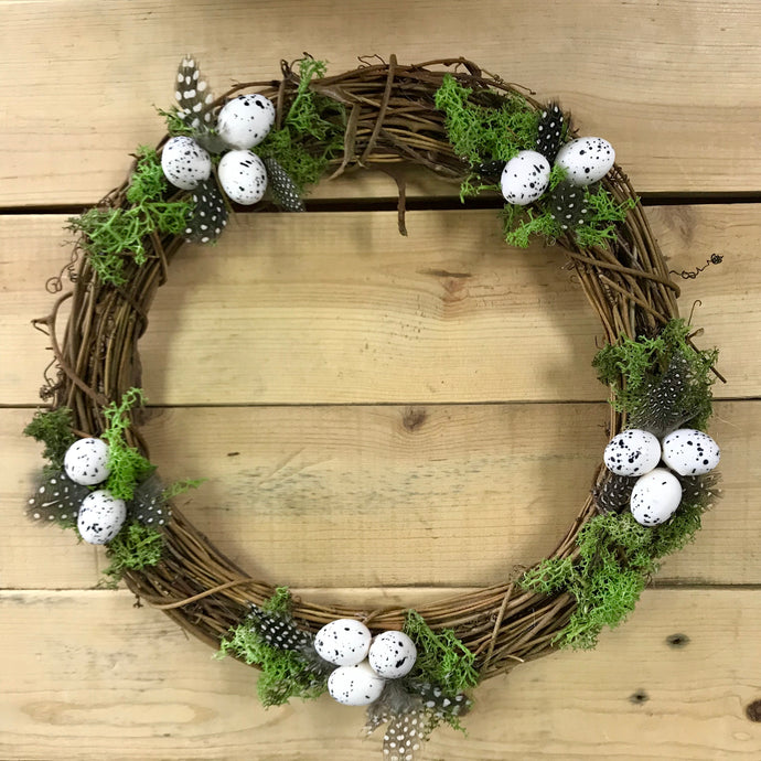 Easter Spring Wreath Centrepiece 30cm