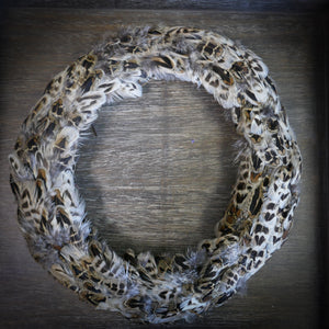 Feather Wreath - Hen Pheasant