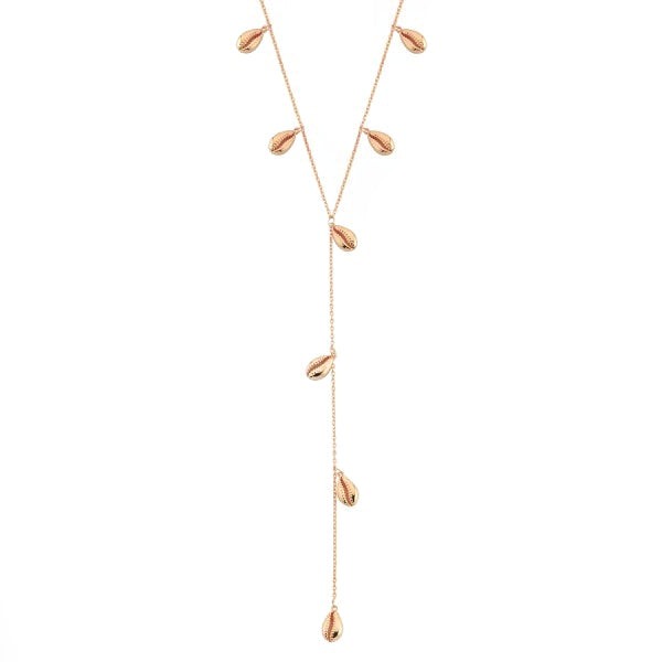 Lariat Shells Necklace