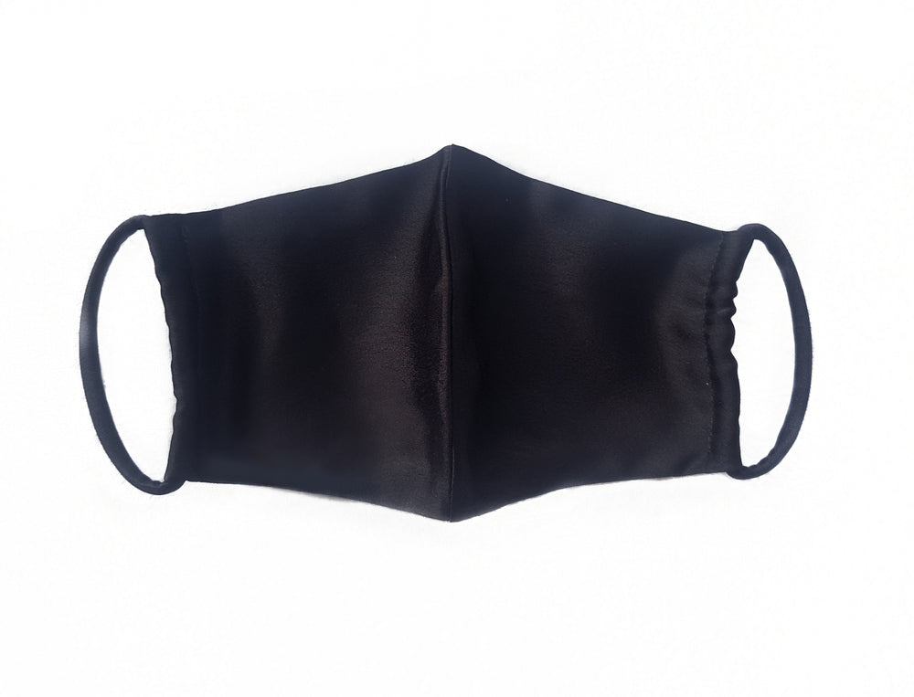 Black Satin Mask