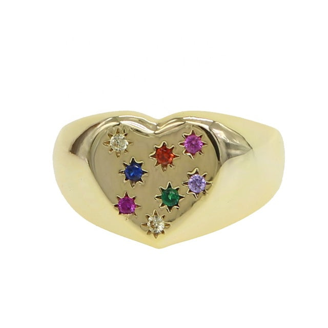 Chevaliere LOVE ring
