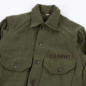 Vintage 1950s U.S Army Korean War Wool Shirt - American Madness