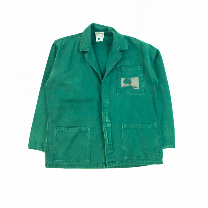 1970's Vintage Green French Chore Jacket