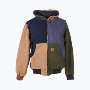 Re-Worked Carhartt Active Hooded Jacket - #60/100 - American Madness