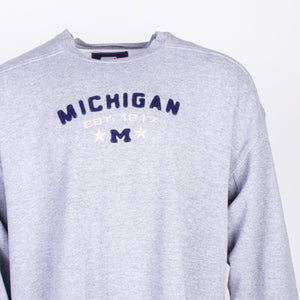 Vintage Starter 'Michigan' Sweatshirt - Grey - American Madness