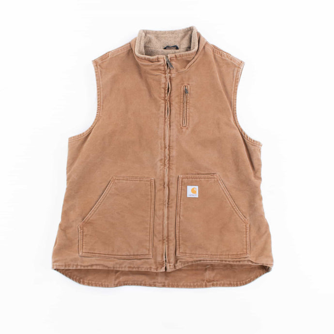 Vintage Carhartt Insulated Vest - Hamilton Brown