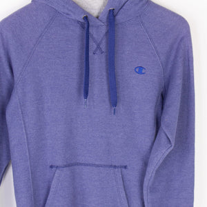 Vintage Champion Spellout Hooded Sweatshirt - American Madness