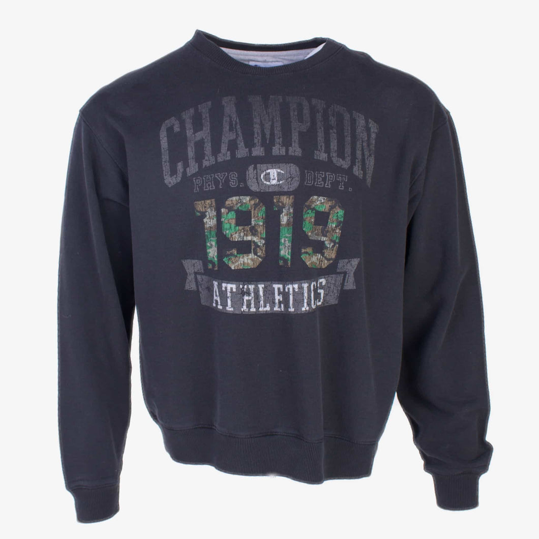 Vintage Champion Sweatshirt - Black - American Madness