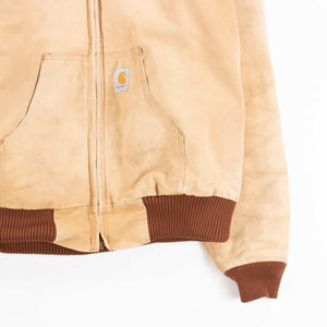 Vintage Carhartt Active Hooded Jacket - Washed Hamilton Brown