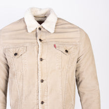 Vintage Levi's Sherpa Corduroy Jacket - Tan - American Madness