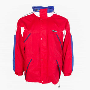 Vintage Berghaus Rain Jacket - Red - American Madness
