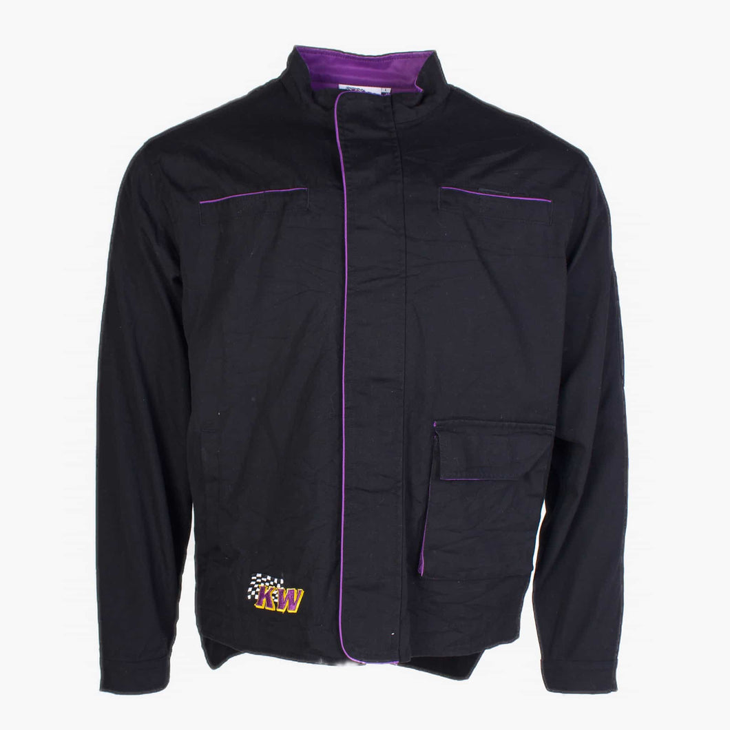 Vintage NASCAR Jacket - Black / Purple - American Madness