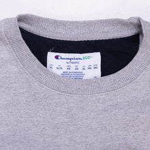 Vintage Champion Spellout Sweatshirt - Grey - American Madness