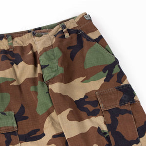 Vintage U.S Army Woodland Camo Cargo Pants - American Madness