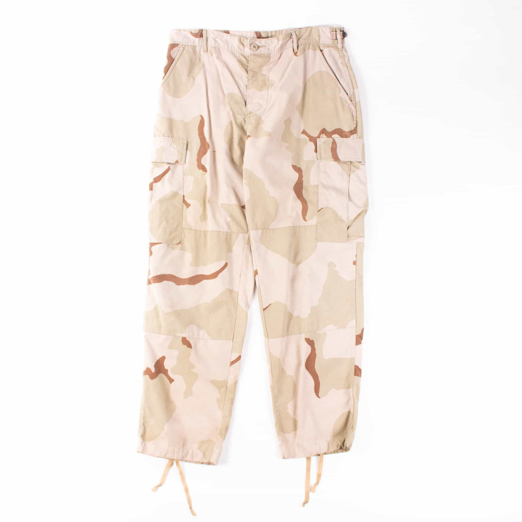 Vintage U.S Army Desert Camo Cargo Trousers - American Madness