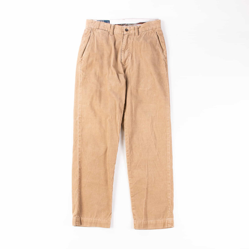 Vintage Polo Ralph Lauren Cord Trousers - Tan