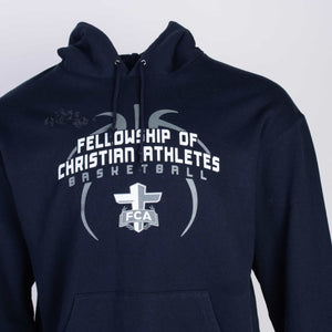 Vintage Champion 'FCA Basketball' Logo Hooded Sweatshirt - American Madness