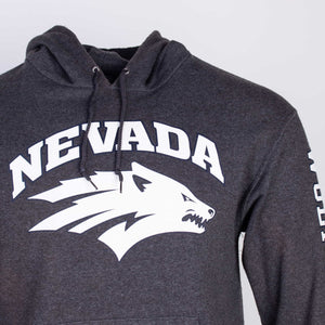 Vintage Champion 'Nevada' Logo Hooded Sweatshirt - American Madness