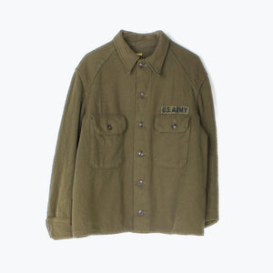 Vintage 1950s U.S Army - Korean War Wool Shirt - American Madness