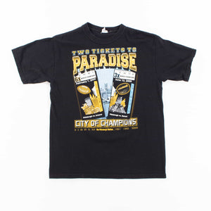 Vintage 'Two Tickets to Paradise' T-Shirt - American Madness