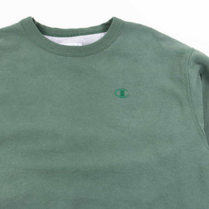 Vintage Champion Logo Sweatshirt - Green
