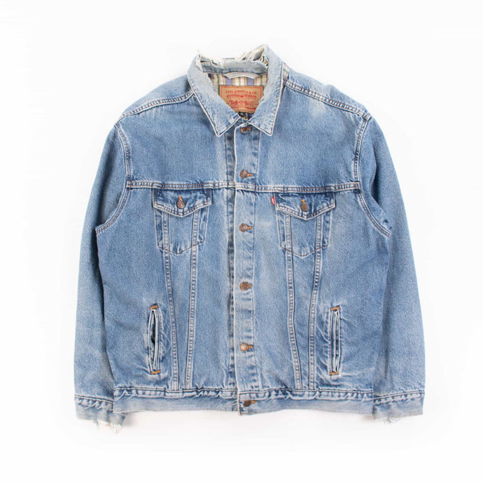 Vintage Levi's Flannell Lined Trucker Jacket