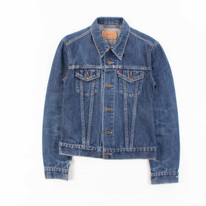 Girls Vintage Levi's Trucker Jacket