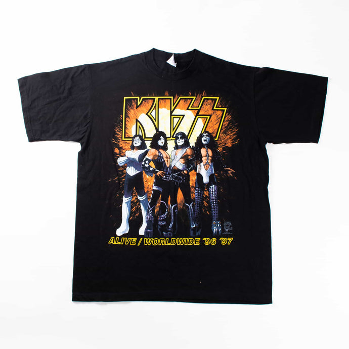 Rare 1996 - 97 'KISS' Band T-Shirt