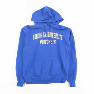 Vintage 'Concordia University' Champion Hooded Sweatshirt