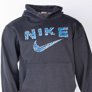 Vintage Nike Spellout Hooded Sweatshirt - American Madness