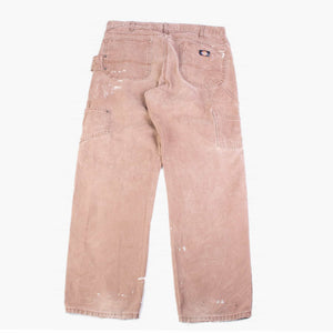 Vintage Dickies Carpenter Distressed Pants - Brown - American Madness