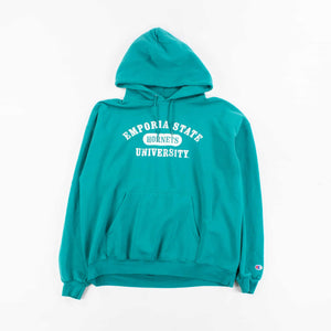 Vintage 'Emporia' Champion Hooded Sweatshirt
