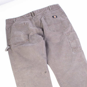 Vintage Dickies Carpenter Distressed Pants - Washed Brown - American Madness