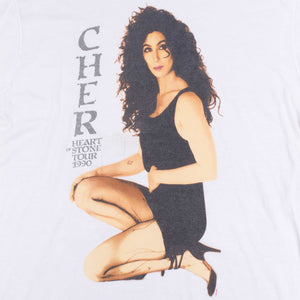 Vintage 1990 Cher Screen Stars Tour T-Shirt