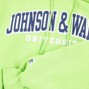 Vintage Champion 'Johnson & Wales' Hooded Sweatshirt - American Madness