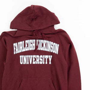 Vintage Champion 'Fairleigh Dickinson' Hooded Sweatshirt