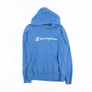 Vintage Champion Spellout Hooded Sweatshirt