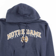 Vintage Champion 'Notre Dame' Hooded Sweatshirt