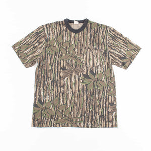 Vintage 'Real Tree Camo' All Over Print T-Shirt - American Madness
