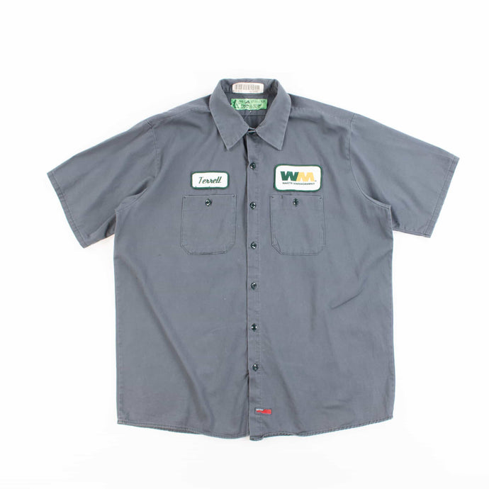 Vintage 'Terrell' Garage Work Shirt