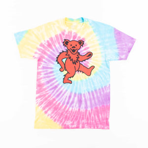 Vintage 2009 'Grateful Dead Dancing Bear' Tie-Dye T-Shirt