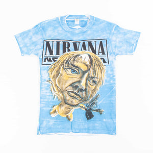 Vintage Bootleg Nirvana 'Nevermind' Screen Stars 50/50 T-Shirt