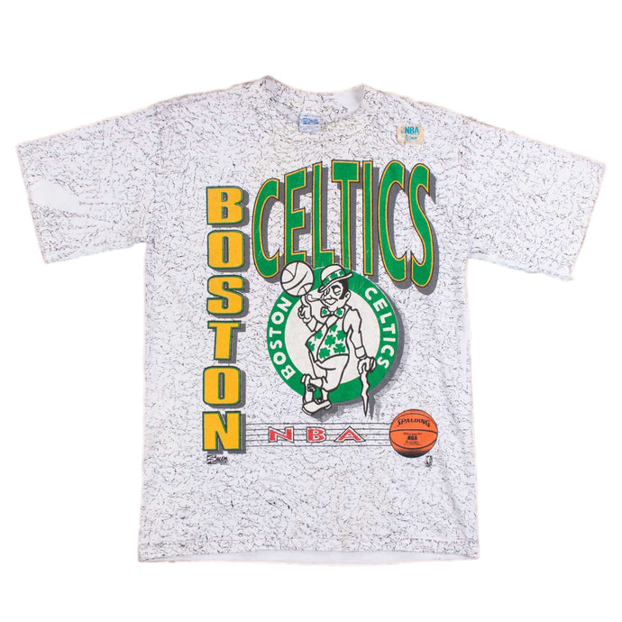 Vintage 1980's 'Boston Celtics Big Logo' T-Shirt