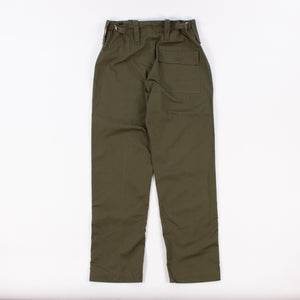 Vintage British Army Olive Green Fatigue Trousers 1960s-70s - American Madness