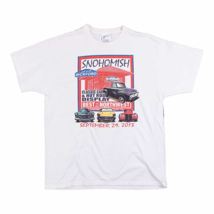 Vintage 'Snohomish Classic Cars' T-Shirt