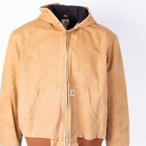 Vintage Carhartt Active Hooded Jacket - Duck - American Madness
