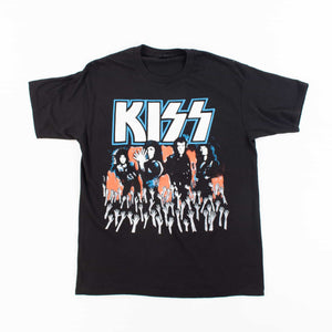 Vintage 'Kiss Live Tour 89' T-shirt